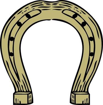 Horseshoe clip art