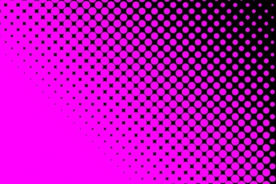 hot pink dots