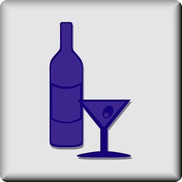 Hotel Icon Bar Or Lounge clip art
