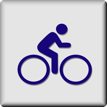 Hotel Icon Cycling clip art