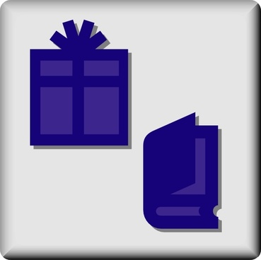 Hotel Icon Gift And Book Shop clip art