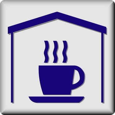 Hotel Icon In Room Coffee And Tea clip art
