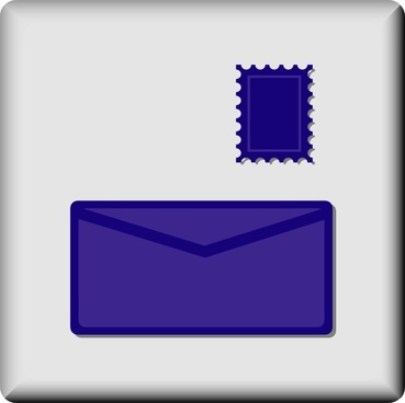 Hotel Icon Postal Outlet clip art