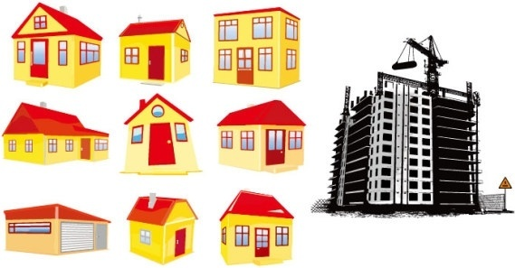 Building free vector download 1 696 free vector for for Home builder online free