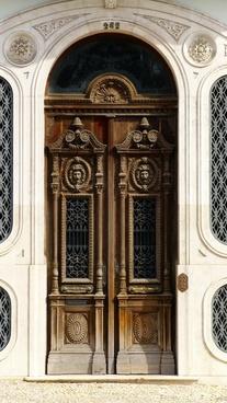 house entrance wood old door