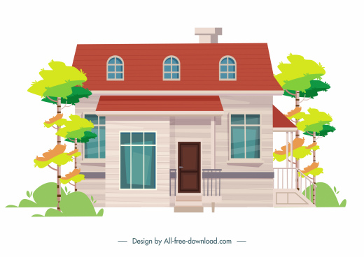 house exterior architecture template elegant modern classic