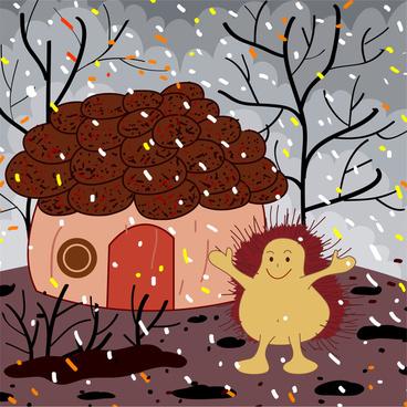 house of hedgehog cartoon
