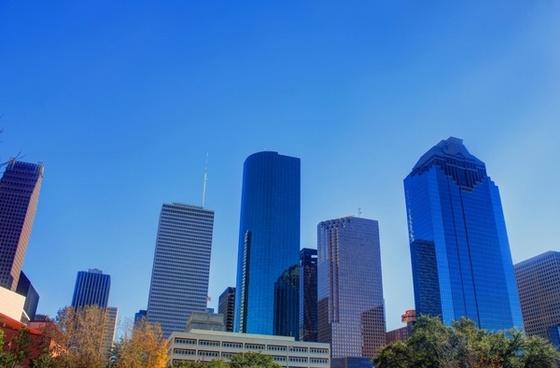 houston skyline 1 in houston texas