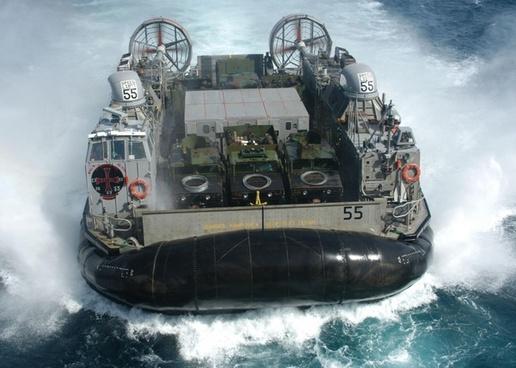 hovercraft floating boat float