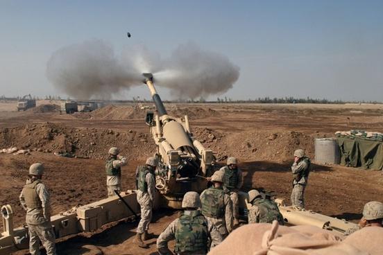 howitzer mortar grenade