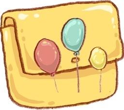 Hp folder balloons