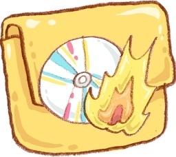Hp folder burn