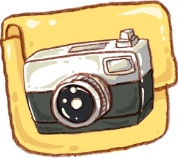 Hp folder camera photo