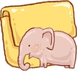 Hp folder elephant