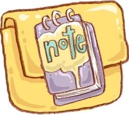 Hp folder note