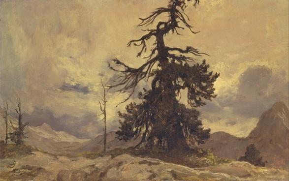 hubert von herkomer painting oil on canvas