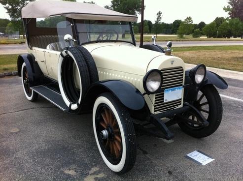 hudson phaeton 1921 car automobile