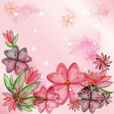 huge collection of beautiful flower vector graphics