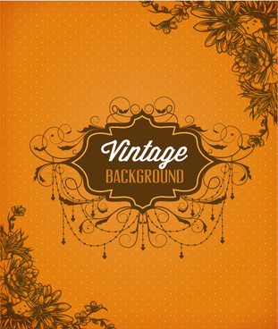 huge collection of vintage background vector