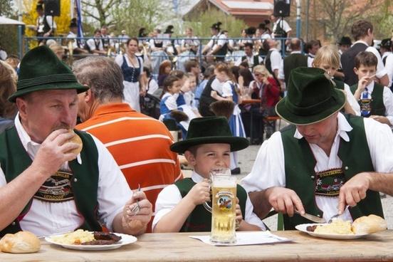 human personal bavarian dinner