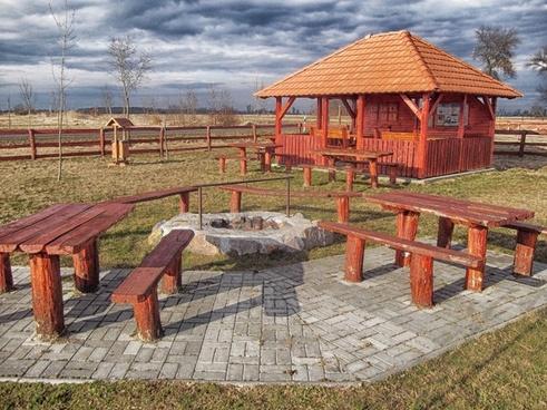 hungary rest area picnic spot