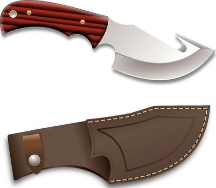 Hunter Knife clip art