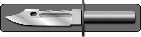 Hunting Knife clip art