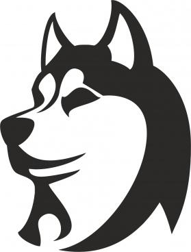 husky free cdr vectors art