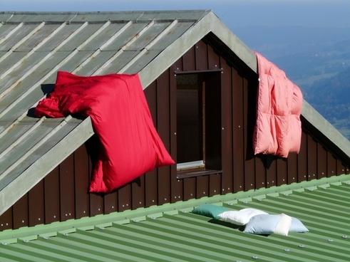 hut mountain hut air