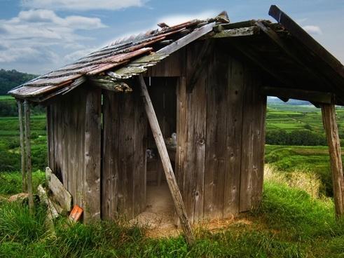 hut mountain hut vineyard