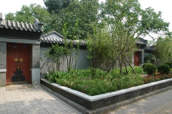 hutong garden entrance