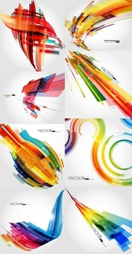 abstract technology background templates sparkling colorful dynamic design