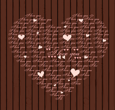 S i love name wallpaper free vector