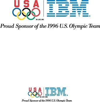 IBM Olympic games logoB