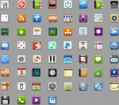iCandies icons pack