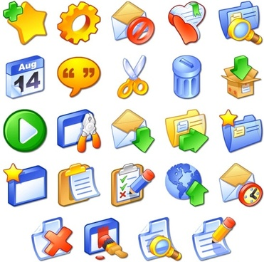 iCandy Junior Toolbar Icons icons pack
