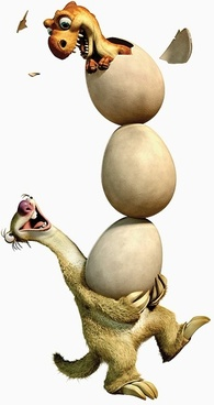 ice age 3 tree seto sid dinosaurs hatched hd picture