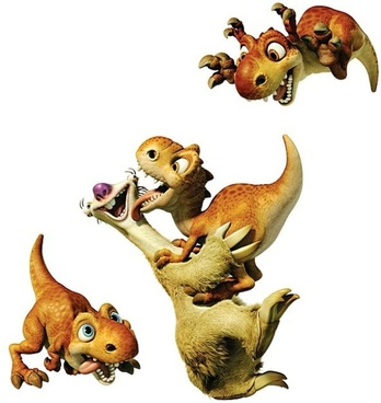 ice age 3 tree the seto sid dinosaur 2 hd picture