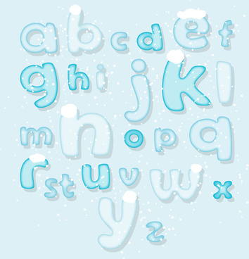vector ice alphabet free vector download 2 105 free vector for commercial use format ai eps cdr svg vector illustration graphic art design vector ice alphabet free vector