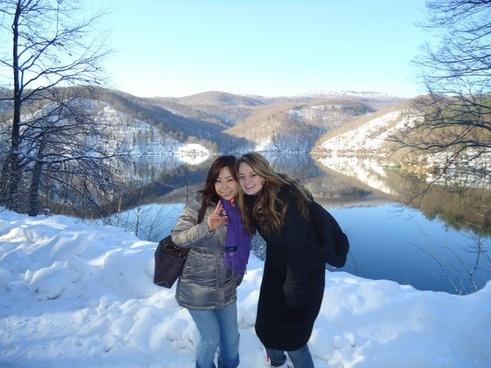 ice landscape croatia