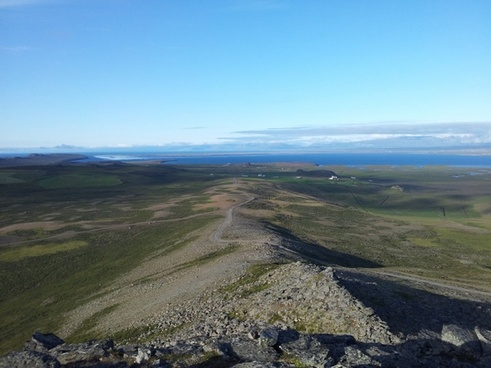 iceland landscape sky