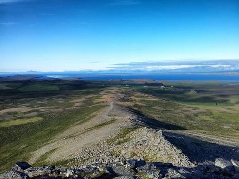 iceland scenic landscape