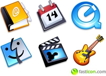iComic Applications icons pack
