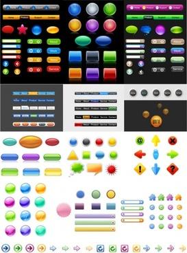icon go button articles vector
