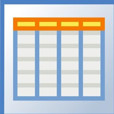 Icon Planning clip art