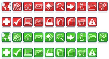 icon vector commonly used in series