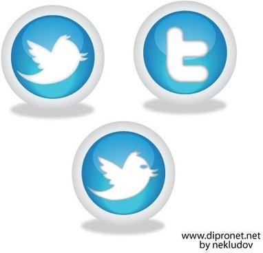 Icons Twitter Vector Beta1