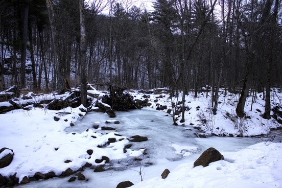icy creek at baxter039s hollow wisconsin