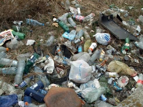 illegal dump environmental damage