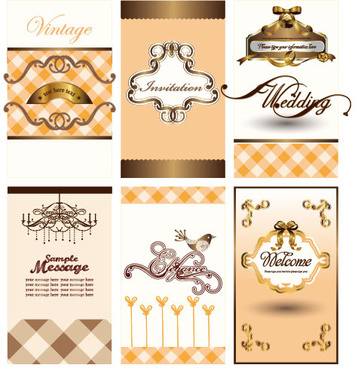 illustration card background vector